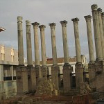 Romerskt tempel. Cordoba