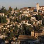 Vy över staden. Granada