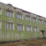 Övergivet hus. Barentsburg