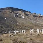 Gruvarbetarkyrkogård. Longyearbyen