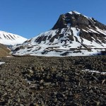 Berget Sarkofagen. Longyearbyen