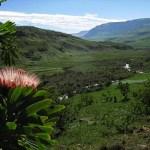 Vy vid Injasuthi. Drakensberg (U)