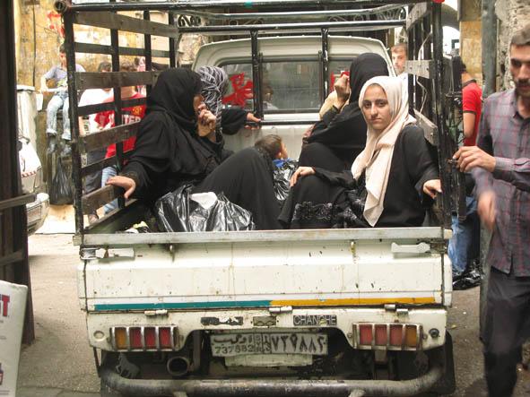 Kvinnotransport! Aleppo
