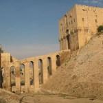 Borgen. Aleppo. Syrien (U)
