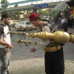 Vattenförsäljare. Damaskus