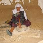 Berberkvinna. Matmata