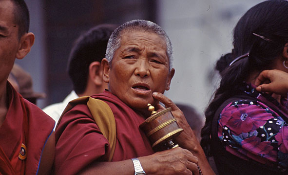 Munk. Dharamsala