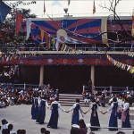 Dalai Lamas födelsedagsfest. Dharamsala