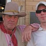 """Mikael och en """"Gunslinger"""". Williams AZ"""