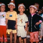 Barn i juletid. Saigon