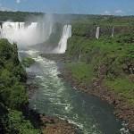 Iguazufallen. Brasilien