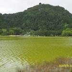 Vy över Lagoa de Furnas