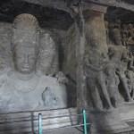 Grottemplen. Elephanta Island. Indien (U)