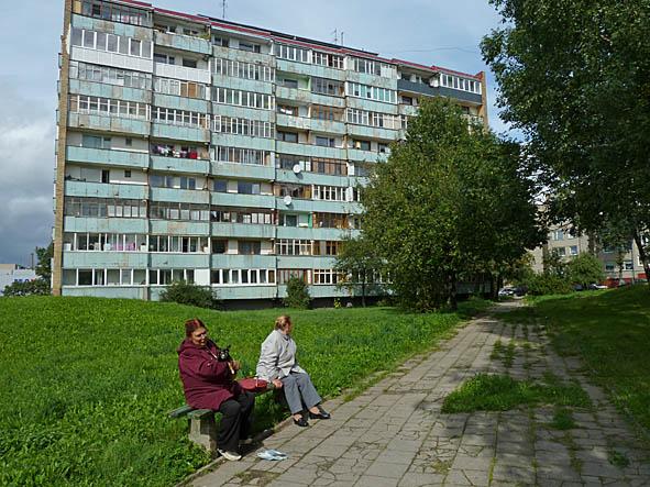 Här bodde jag. Klaipeda