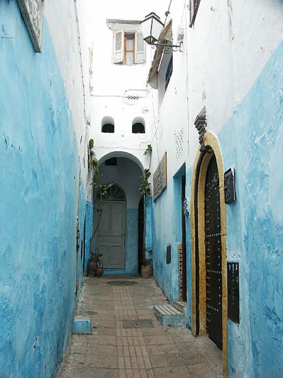 Blå staden. Rabat (U)