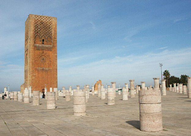Hassan-mosken. Rabat (U)