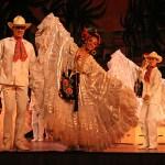 Dansföreställning. Mexico City