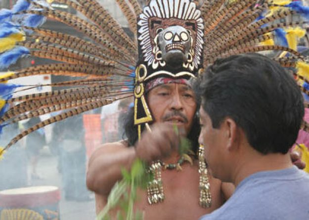 Shaman. Mexico City