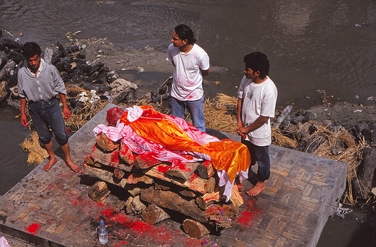 Likbål. Kathmandu
