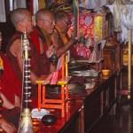 """Munkar i """"Aptemplet"""". Kathmandu"""