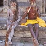Heliga män. Kathmandu. Nepal