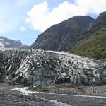 Fox Glacier. Nya Zeeland (U)
