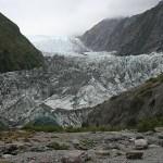 Franz Josef glaciären. Nya Zeeland (U)