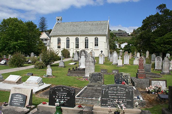 Den gamla kyrkan. Kororareka