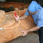 Maoriskulptör. Rotorua