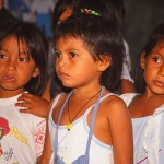 Skolbarn. Amazonas