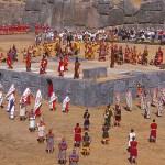 Inkafesten Inti Raymi. Cusco