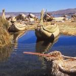 Hos urusindianerna. Titicacasjön
