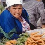 Marknaden. Minusinsk
