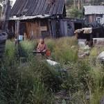 Bostadsområde. Kyzyl