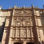 Universitetet. Salamanca. Spanien