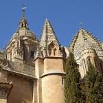 Nya Katedralen. Salamanca. Spanien