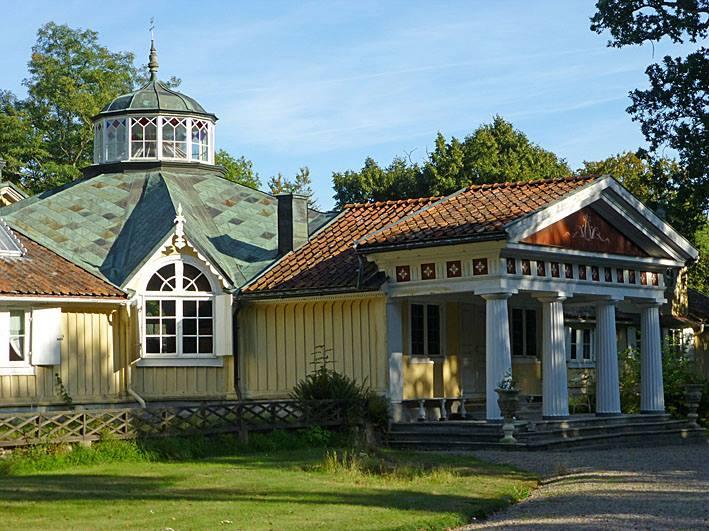 Skärva Herrgård. Karlskrona. Sverige