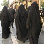 Beslöjade kvinnor. Damaskus