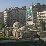 Gammal moské. Damaskus (U)
