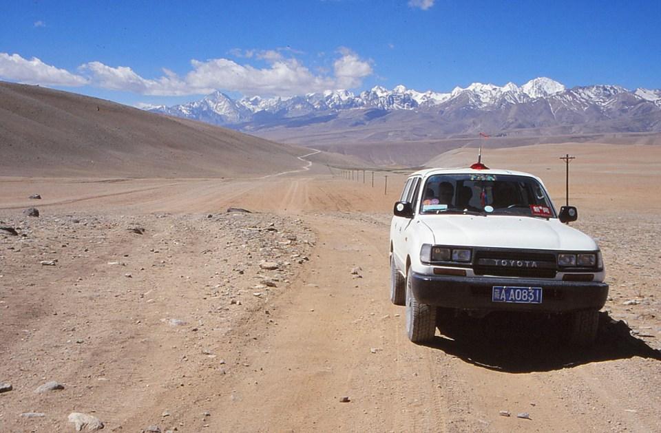 På väg mot Kailash. Sher. Tibet