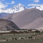Vy över Mount Everest