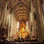 St Vitus katedralen. Cesky Krumlov (U)