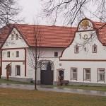 Byn Holasovice. Tjeckien (U)