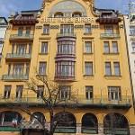 Hotel Europa, jugendstil. Prag