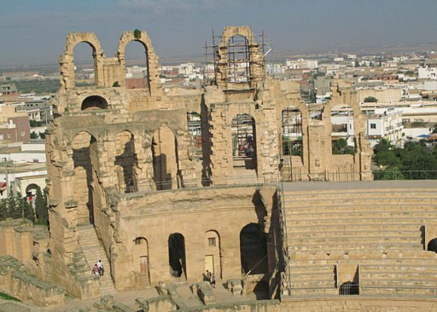 Romerska teatern. El Jem (U)