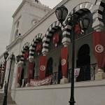 Regeringsbyggnad. Tunis