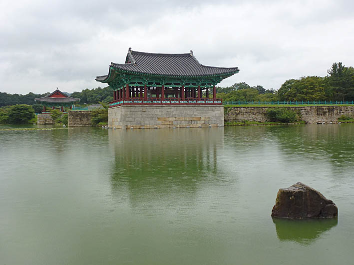 Anapji dammen. Gyeongju (U)