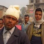 Nyfikna blickar. Dhaka