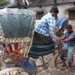 Hos reparatören. Dhaka