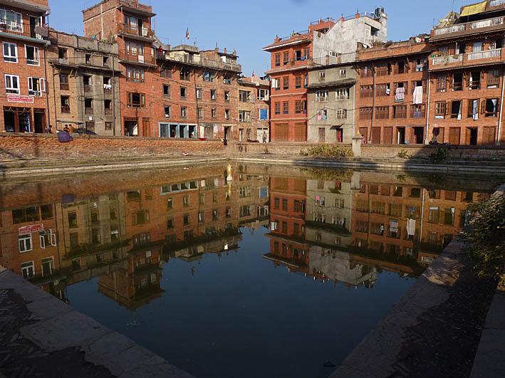 Spegelbilder. Bhaktapur